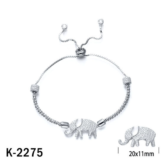 Handmade Fashion Jewelry 925 Sterling Silver Cubic Zirconia Bracelet for Sale pictures & photos