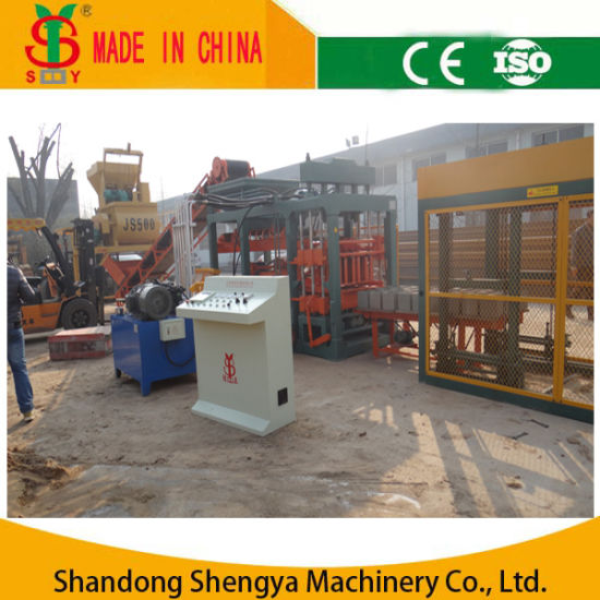 QT8-15 Full Automatic Hydraulic Cement Block Making Machine pictures & photos