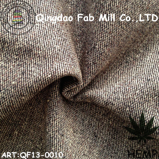 Hemp/Organic Cotton Yarn Dyed Fabric (QF13-0010) pictures & photos
