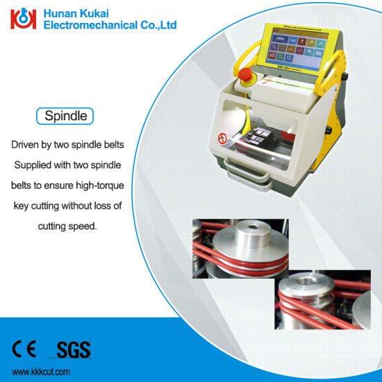 All in One Key Cutting Machine Key Duplication Machine English Version pictures & photos