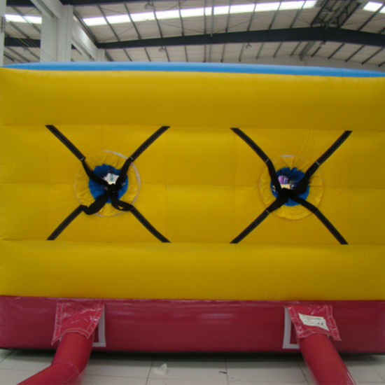 durable red running way inflatable toy for park amusement