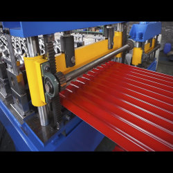 Best Roll Forming Machinery Prices in Botou Hebei China 800 Glazed Roof Panel Roll Forming Machine