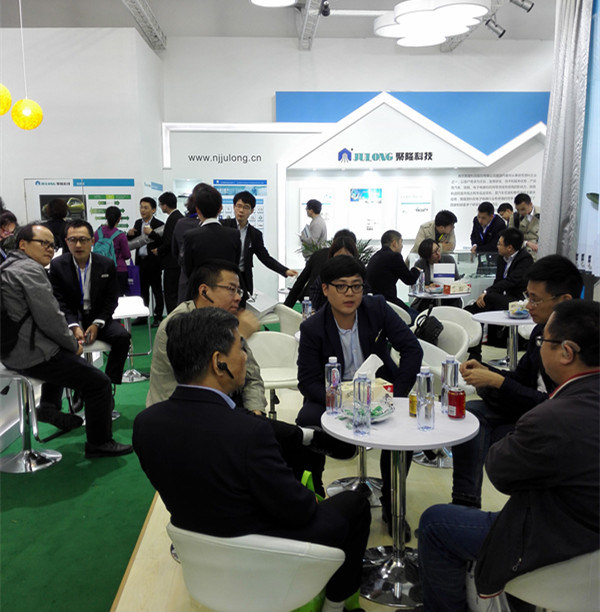 Julong Booth during 2016 Chinaplas Status Show
