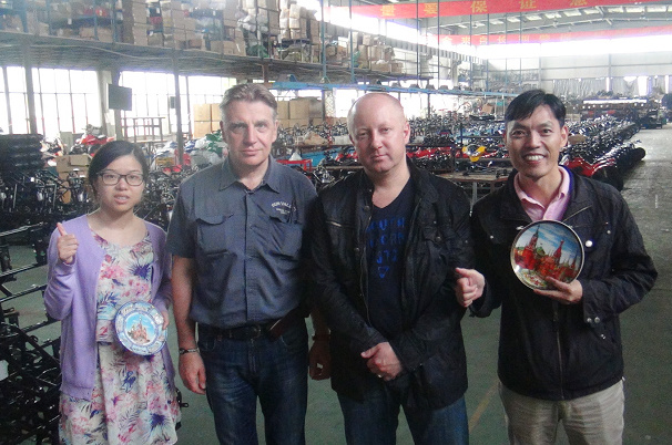 Russia Buyer visited factory