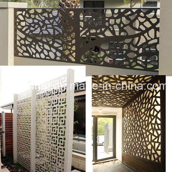 Laser Cut Perforated Screen