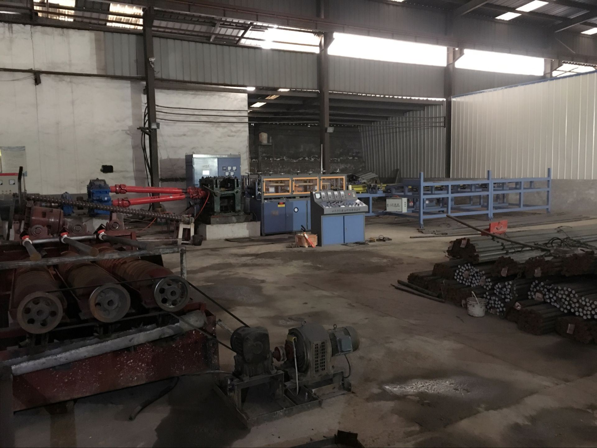 Update Two Sets Of Hot Rolling Ball Production Line
