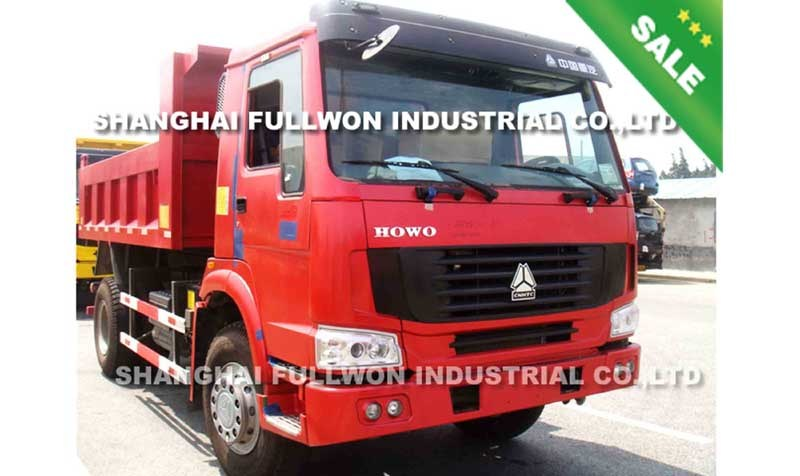 HOWO 4x2 DUMP TRUCK ON SALE