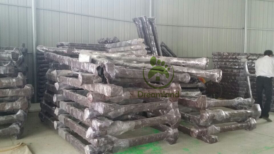 Package for finished steel structure