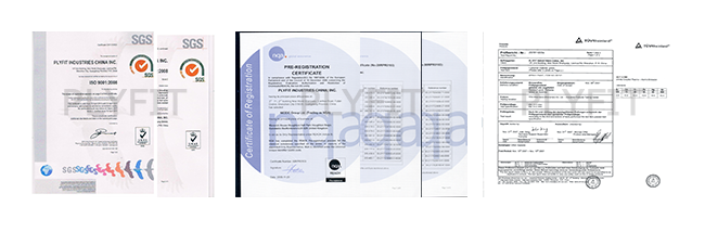 Quality Guarantee: ISO9001,REACH,TUV, Factory Audit, SASO