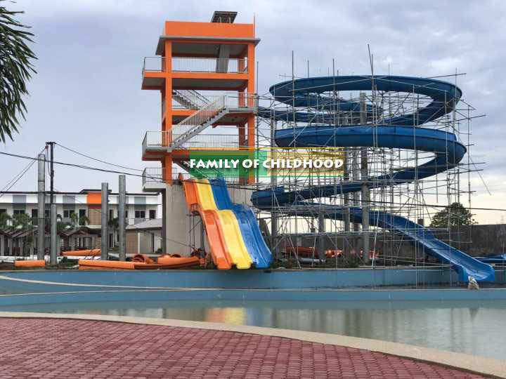 Big water slide project from Philippines