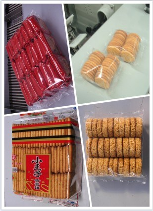biscuit multi row packing machine