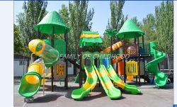Large outdoor playground slide