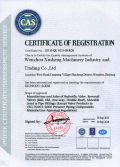 ISO9901-2008 Certificate of Registration