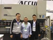 Accurl took part in the American Exhibition in 2016