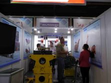 Mining exhibition in Johannesburg, South Africa.