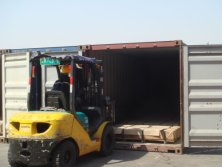 Stainless Steel Plates Transportation