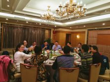 Tavol arrange Dinner with our Kenya Agent in Shanghai