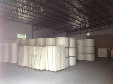 RAW MATERAL PAPERS IN WAREHOUSE