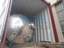 40HQ for 6000Litres Mixing Tank X 8set
