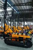 JBP100B Diesel Crawler Drilling Rig 90-105mm and 25-30meters depth