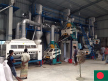 Sesame cleaning plant in Bangladesh