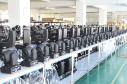 moving head light production line