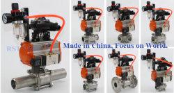 ball valve with pneumatic actuator
