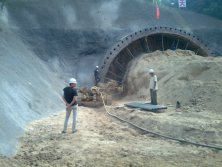 Project-tunneling drilling tools
