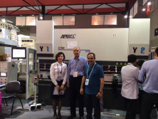 Earl melon Customers Visit Our Exhibition