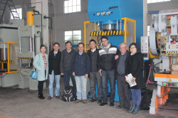 The Delegation of Peru Came to Visit Our Factory and Buy Machines