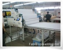 Fabric Spreadding M/C