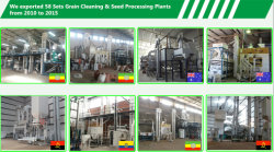 58 sets Grain cleaning & Seed Processing plants in Oversea