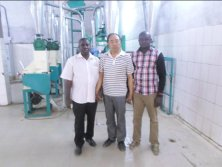 10T Maize Flour Milling Plant in Burkina Faso