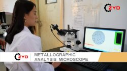 Metallographic Analysis Microscope