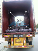40′ HQ Container 4000Litres X2