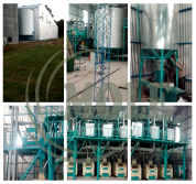 50T wheat flour milling plant in Argentina