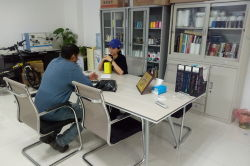 discus with the customer