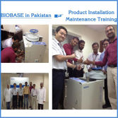 BIOBASE in Pakistan for Product Installation and Maintenance Training