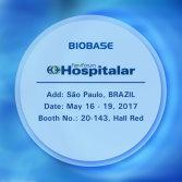 Welcome to visit BIOBASE at Hospitalar 2017