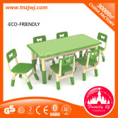 Hot Sale CE Certificated Kindergarten Plastic Chairs and Desks for Sale