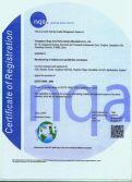 Certificates ISO/SO 16949:2009