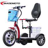 48V 500W-800W 3 Wheels Electric Scooter with Dual Front Shock Suspensions