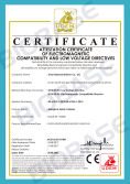 CE Certificate for Class I Biological Safety Cabinet