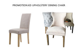 PROMOTION:KD UPHOLSTERY DINING CHAIR
