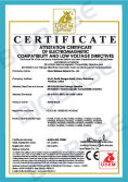 CE Certificate for Fume Hood