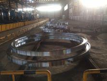 large diameter wind turbine forged steel rings