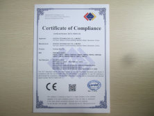 CE Certificate of fanless mini pc