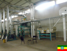 Sesame, chickpea cleaning plant in Ethiopia