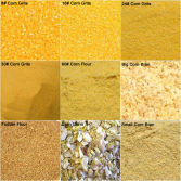 maize mill products: