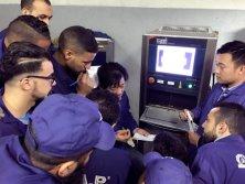 SUZHOU BAOMA MACHINES IN CUSTOMERS WORKSHOP